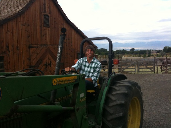 Farm chores with a ranch hand / heartthrob